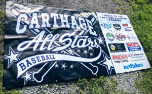 Carthage 8U All Stars Baseball . Thanks to the Carthage All Star Sponsors. yep creative, Paramount Farrier Service, Ropers Used Cars, Liberty Tree Guns, Cave Gang Pizza, netfiahes and more.